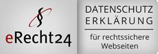 eRecht24 - Datenschutz